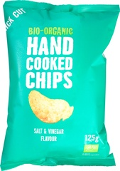 Handcooked chips salt & vinegar